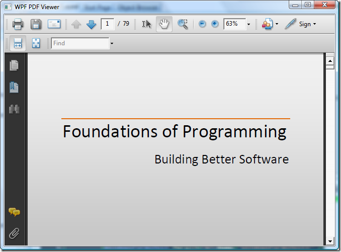 Wpf Programmers Reference Pdf